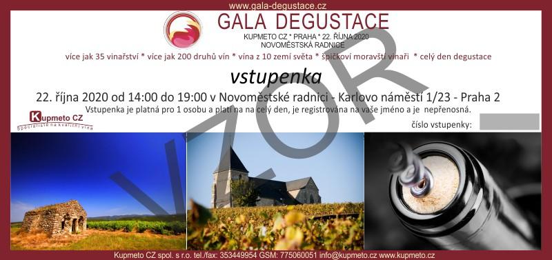 Gala degustace 2020- Kupmeto CZ