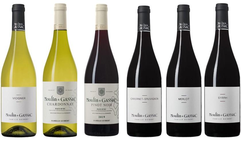 Sada 6 vín - Vstup do světa vín jižní Francie - Gassac