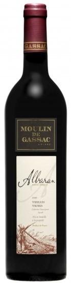Vertikála Moulin de Gassac - Albaran Rouge 2014 a 2015