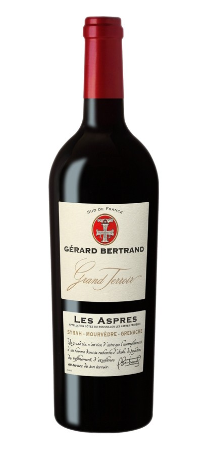 "Gerard Bertrand - Cotes du Rousillon Villages ""Les Aspres"""