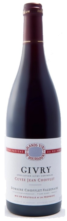 Givry Rouge - Domaine Chofflet 2013