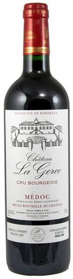 Médoc - Château La Gorce cru bourgeois 2001