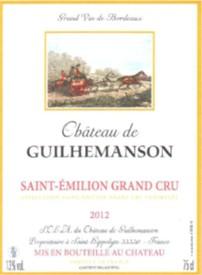 Saint Emilon - Chateau Guilhemanson 2012 Grand cru