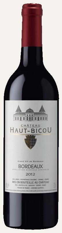 Château Haut Bicou 2016 - Bordeaux rouge