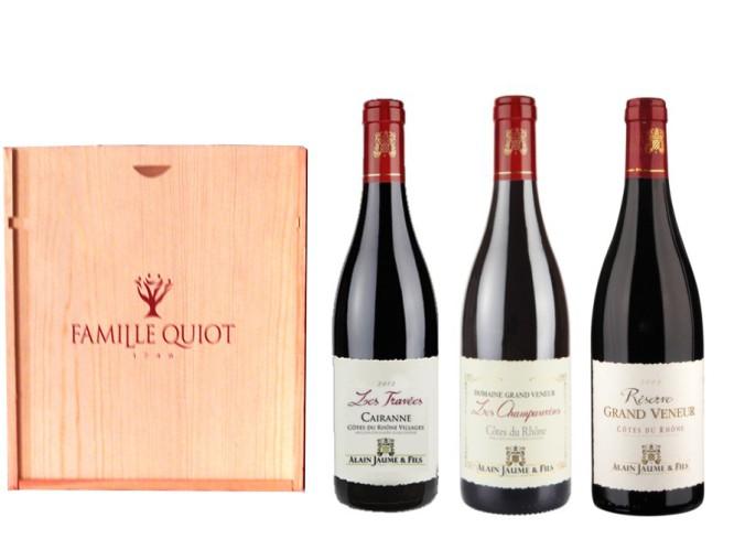 Hvězdy vín Cotes du Rhone