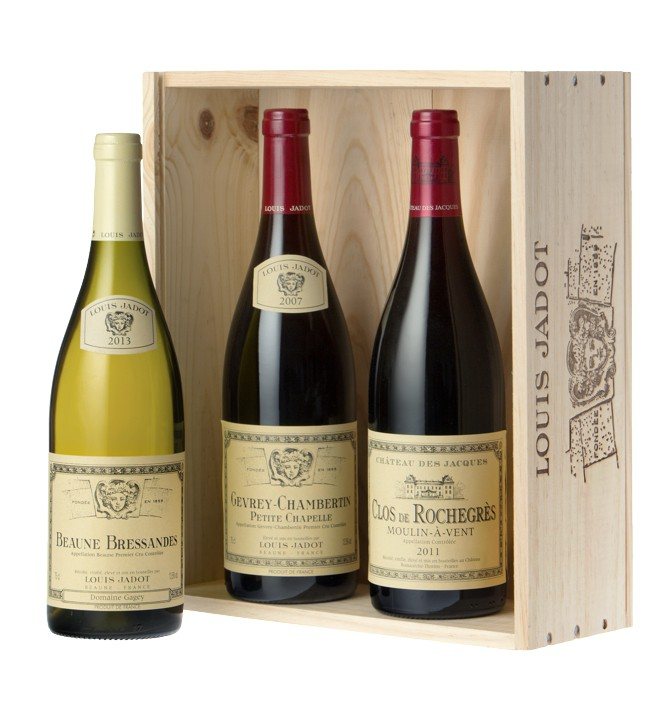Maison Louis Jadot - sada 3 lahví