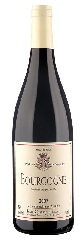 Bourgogne rouge - Domaine Belland 2008