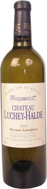 Pessac Leognan  - Château Luchey Haldes blanc 2009