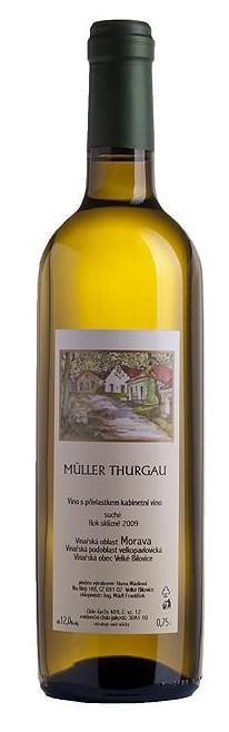 Mádl - Müller Thurgau kabinet 2018