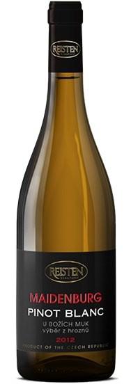 Reisten Maidenburg - Pinot blanc 2014 pozdní sběr