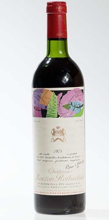 Pauillac - Château Mouton Rothschild 1975 1er Grand cru classé (A)
