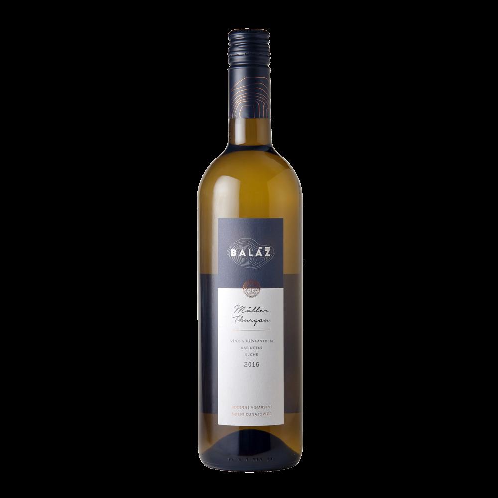 Svatomartinské víno Müller Thurgau Vinařství Baláž