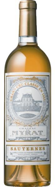 Barsac - Château  MYRAT 2009