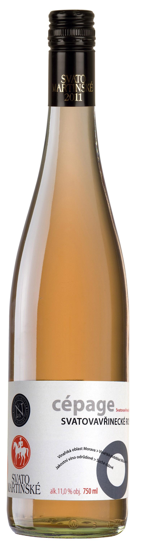 Svatomartinské - Svatovavřinecké rosé  Nové vinařství