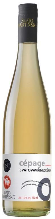 Svatomartinské - Svatovavřinecké klaret Nové vinařství