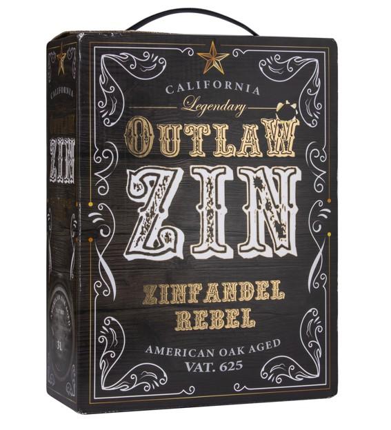 Zinfandel Outlaw  bag in box