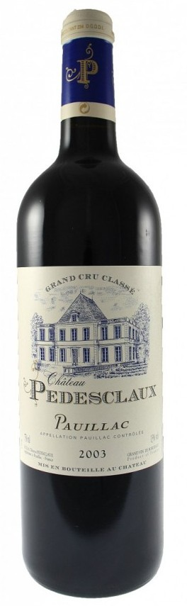 Pauillac - Château PEDESCLAUX 2011 Grand cru classé