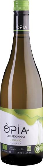Opia bio nealkoholické víno Chardonnay