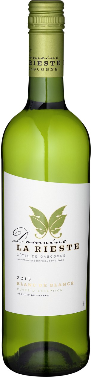 Domaine La Rieste - Cotes de Gascogne blanc - bílé víno z Gaskoňska