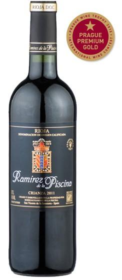 Rioja Bodegas Ramirez crianza Prague Gold Premium