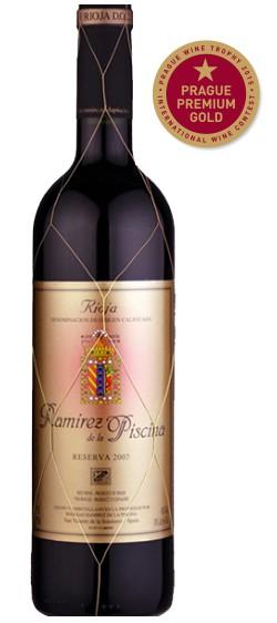 Rioja Bodegas Ramirez Reserva Prague Gold Premium