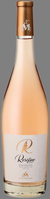 Roséfine - růžové víno údolí Rhôny