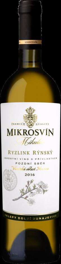 Mikros vín - Flower Line Ryzlink rýnský