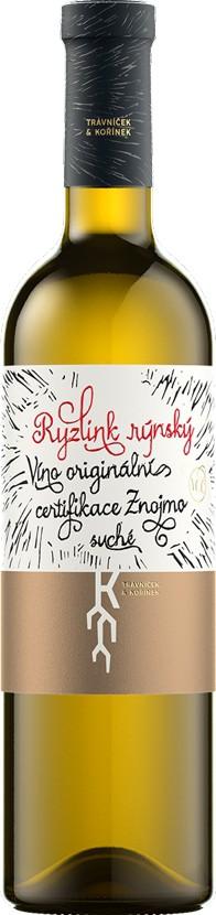 Trávníček & Kořínek - Ryzlink rýnský VOC 2014