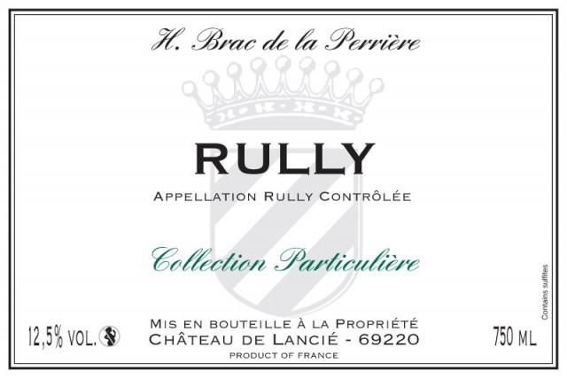 Rully blanc - H. Brac de la Perriere