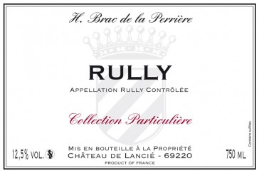 Rully rouge - H. Brac de le Perriere 2013