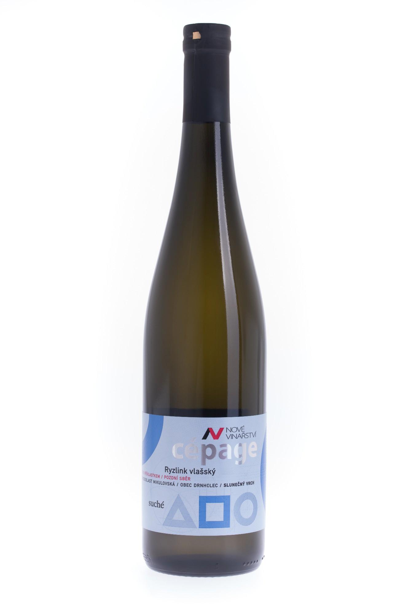 Nové Vinařství - cepage Ryzlink vlašský