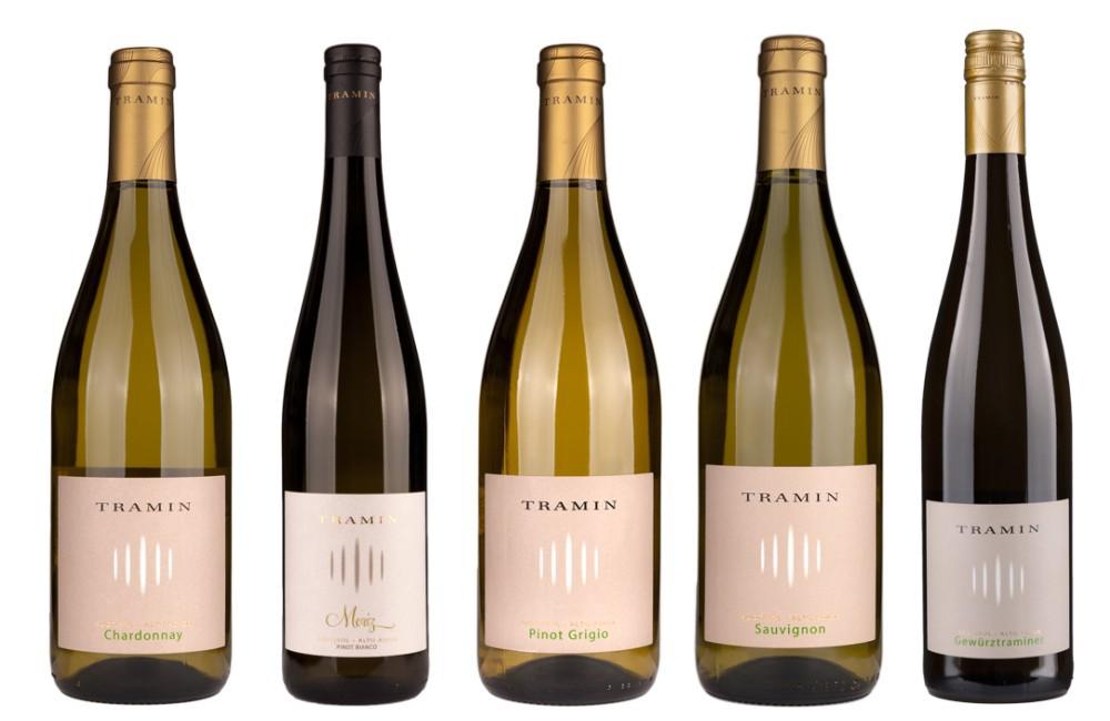 Sada 5 vín - Cantina Tramin