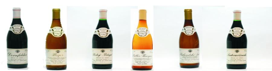 Sada 6 vín z Žernoseckého vinařství