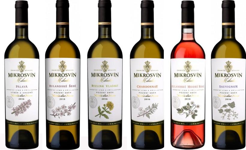 Sada 6 vín - Mikros 2018 a 2019