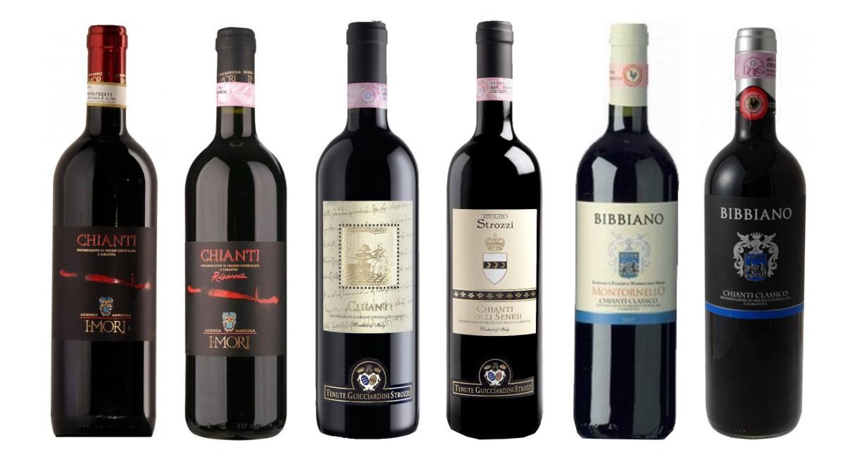 Sada 6 vín - Chianti