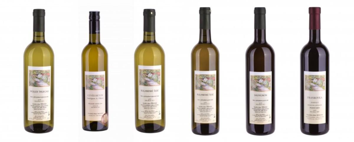 Sada 6 vín - František Mádl