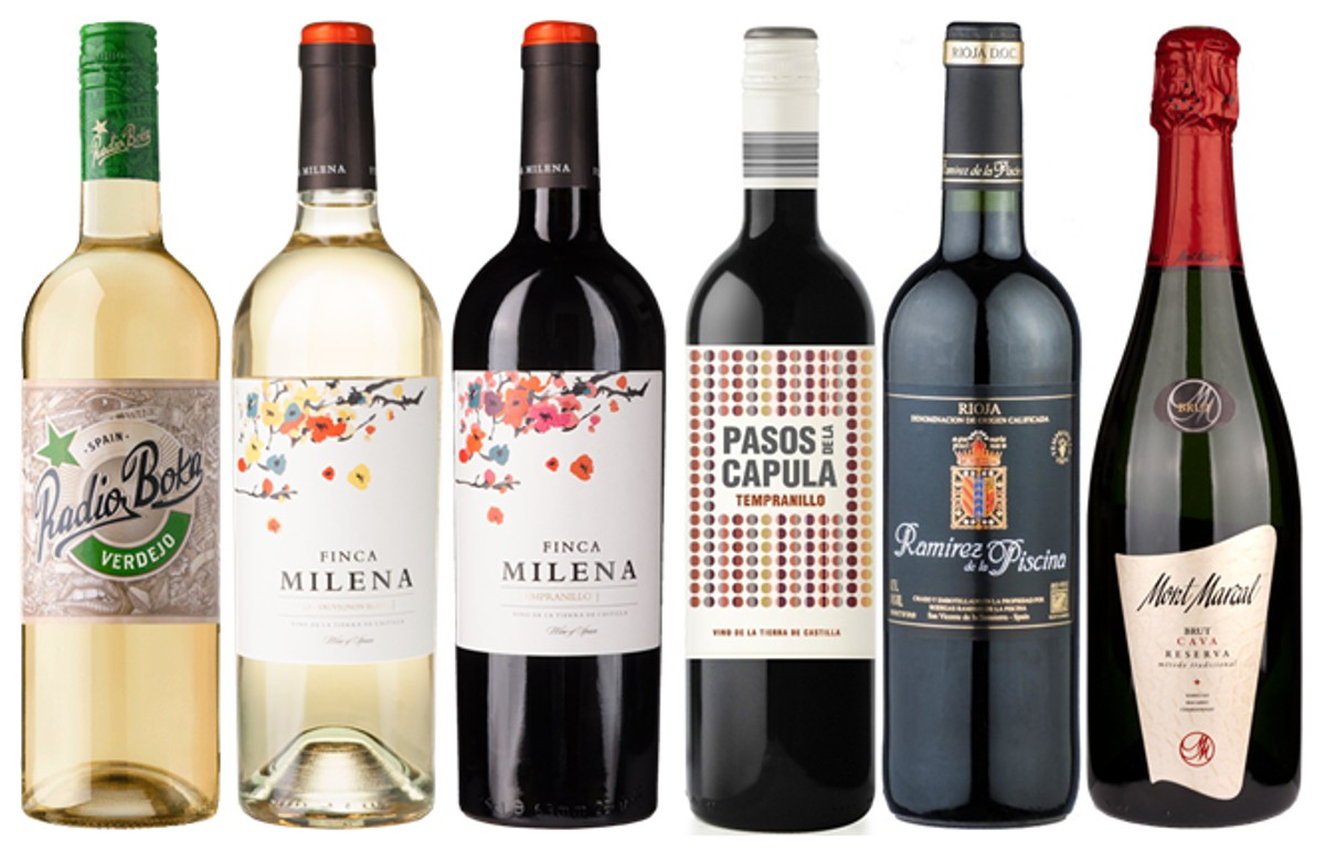 Sada 6 vín - Vuelta a Espaňa