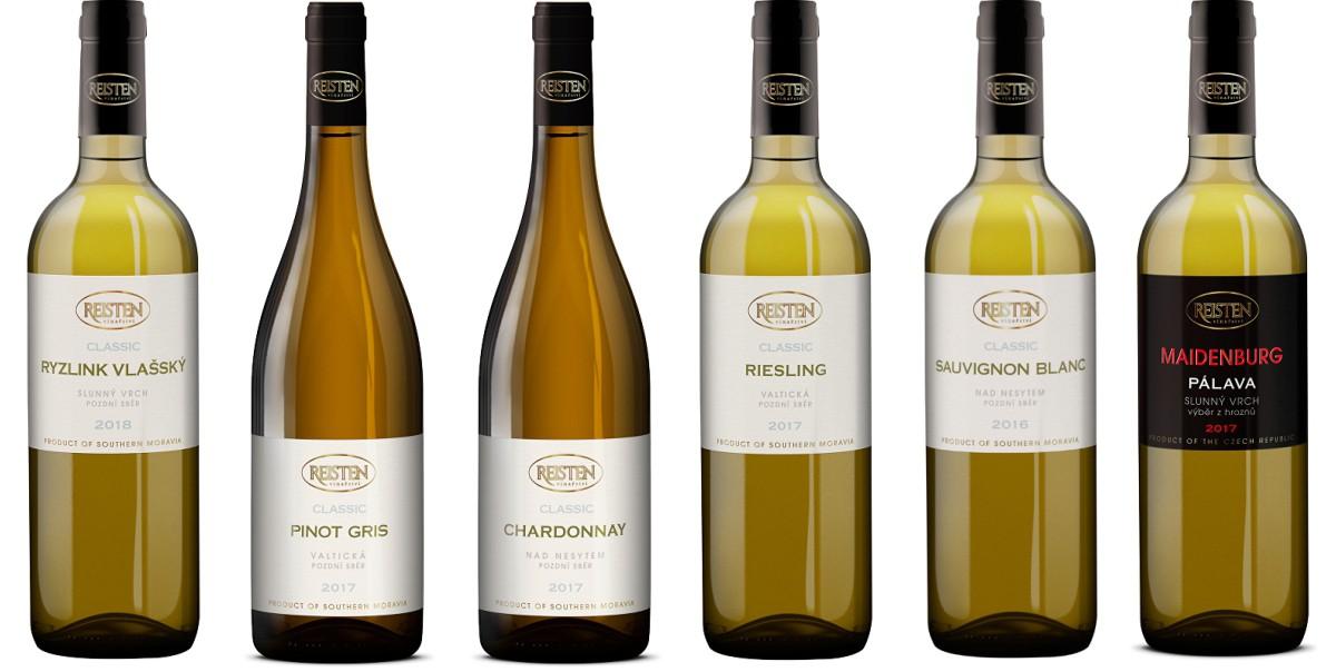 Sada 6 vín Reisten