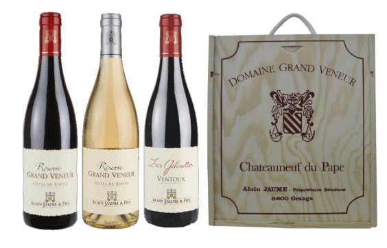 Sada 3 vín - Jižní Francie