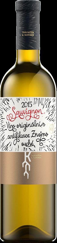 Trávníček & Kořínek - Sauvignon VOC 2015
