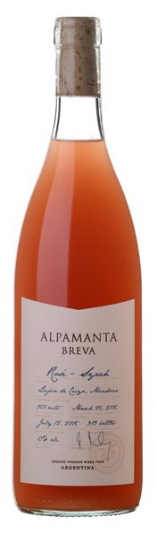 Syrah rosé Breva Alpamanta