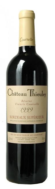 Bordeaux superieur - Château Thieuley reserve 2010