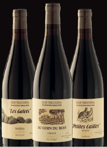 Cahors - Clos Triguedina  Trilogie 2012 (3ks)