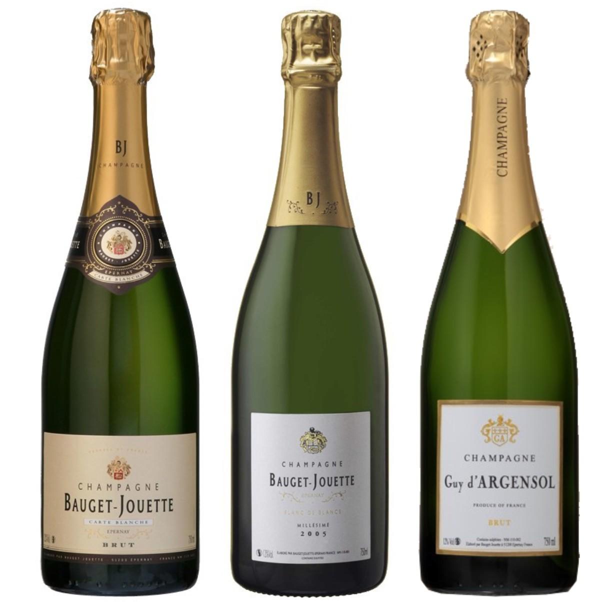 Sada 3 Champagne - Bauget Jouete