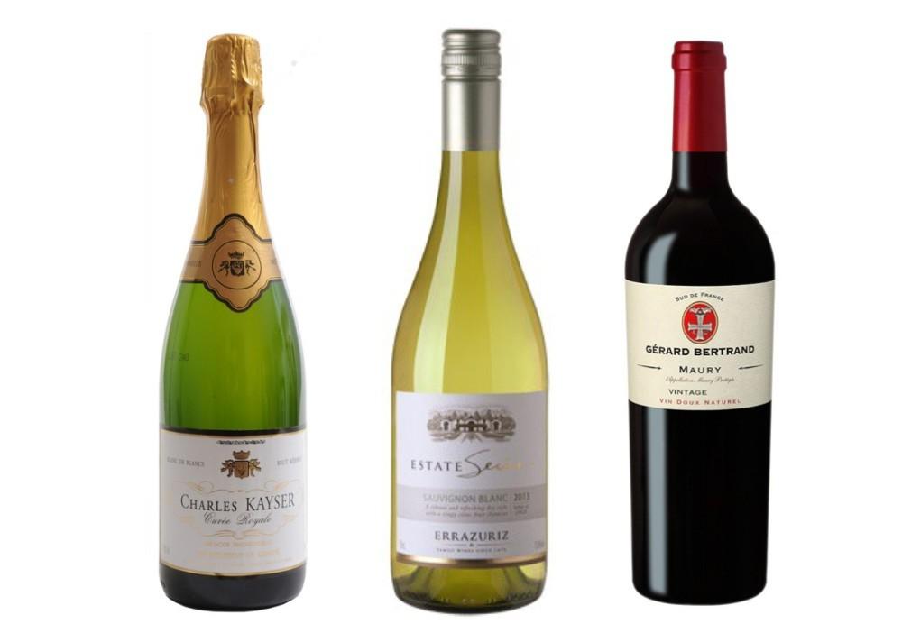 Sada 3 vín - Štědrovečerní malá sada vín