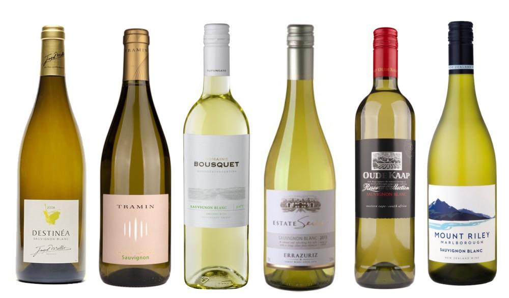 Sada 6 vín - Sauvignony světa