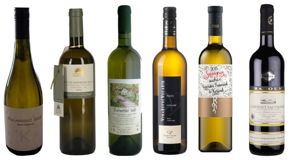 Top moravská vína
