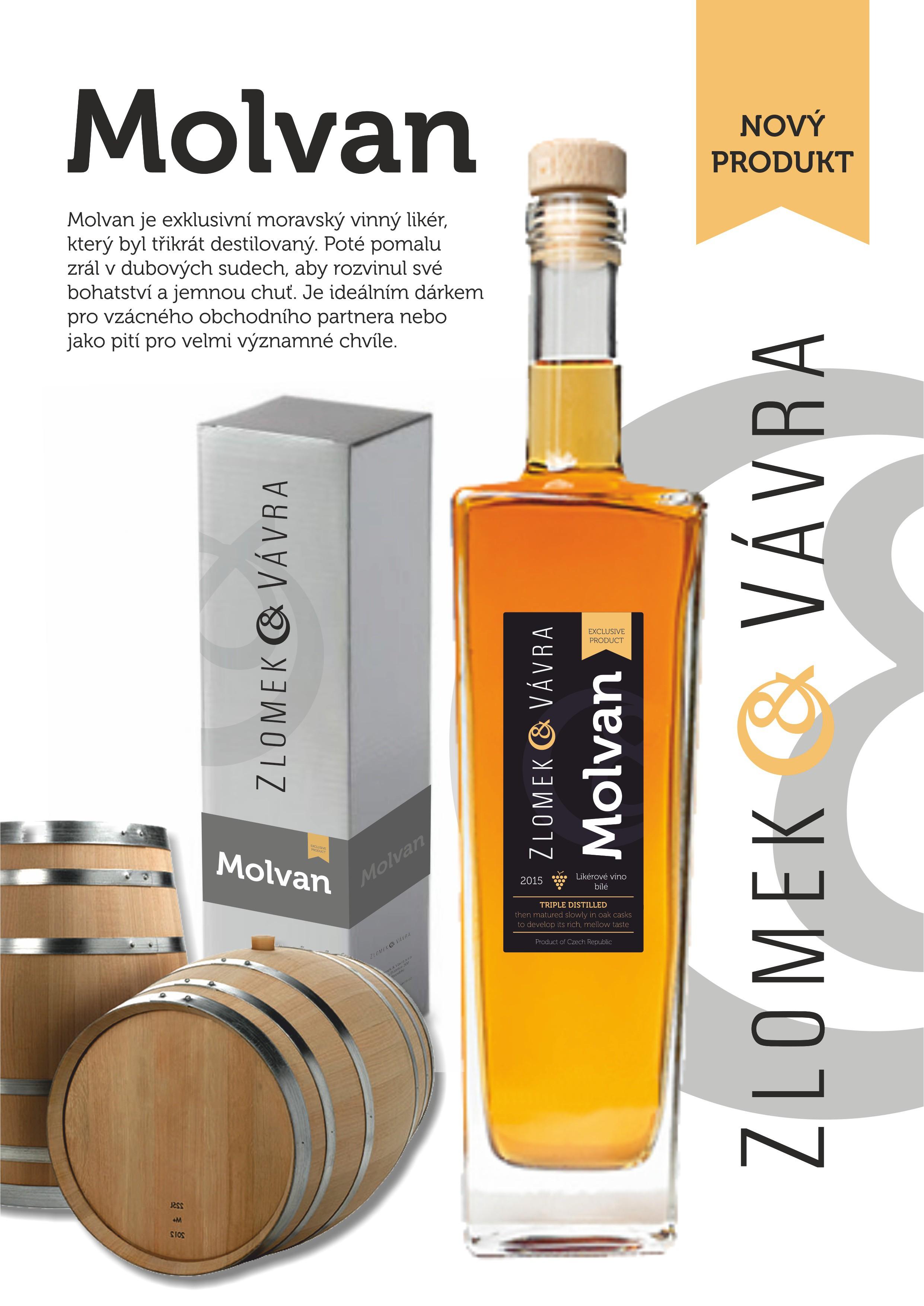 Zlomek & Vávra - MOLVAN vinný likér
