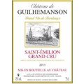 Saint Emilon - Chateau Guilhemanson 2013 Grand cru