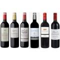Sada 6 vín z Bordeaux 2015